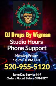 DJ Intros Custom Voiced By The #1 DJ Drop Voice | Same Day